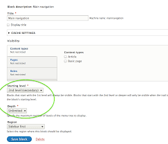 theme drupal menu block add options to system menu block so primary and secondary menus can