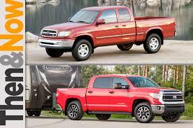nissan titan versus toyota tundra then and now 2000 2014 toyota tundra