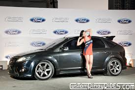 ford focus philippines fhm premier vixen christine marquez and the ford focus rs