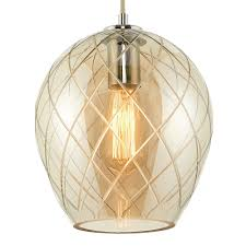 Pendant Ceiling Lights by Darcy Ceiling Fitting Polished Chrome Glass Pagazzi Lighting