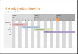 8 project timeline templates for word u0026 excel templateinn