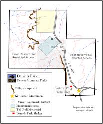 Colorado State Parks Map by Daniel U0027s Park Hike And Picnic In South Denver