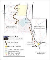 Salida Colorado Map by Daniel U0027s Park Hike And Picnic In South Denver