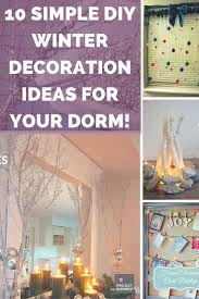 How To Decorate Home With Simple Things 10 simple diy winter decoration ideas for your dorm project inspired