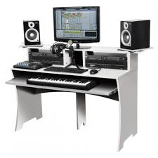Studio Desk Music by Glorious Workbench White 2 Home Studios Pinterest Workbenches