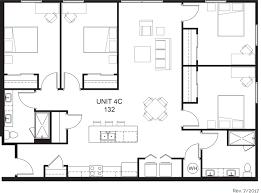 4 Bedroom Open Concept Floor Plans First Place U2013phoenix Apartment Floor Plans