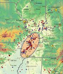 map us geological survey new madrid seismic zone earthquake hazard article and map