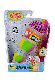 yo gabba gabba microphone fireflybuys