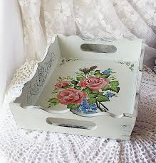 Shabby Chic Paintings by Buy Tray Shabby Chic Painted