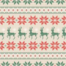 Christmas Pattern Knit Fabric | knitted fabric christmas pattern vector set 05 pixel pattern