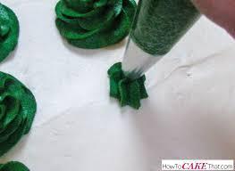 christmas tree lot cake how to cake that