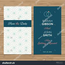 Discover Card Invitation Wedding Card Invitation Template Editable Pattern Stock Vector