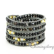 men jewelry bracelet images Leather wrap bracelet womens bracelets five layer wrap leather jpg