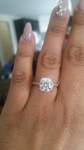 engagement rings size 8 free rings 3 karat solitaire ring 3 karat