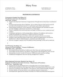 Administrative Assistant Sample Resumes by Sample Administrative Assistant Resume 8 Examples In Word Pdf
