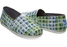 toms periodic table shoes slip ons toms periodic table men s classics blue green periodic
