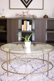 how to decorate a round coffee table for christmas 12 round coffee tables we love coffee rounding and living rooms