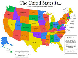 united states map with all the states and cities the united states of autocomplete i like bored