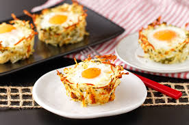 breakfast baskets veggie potato egg baskets veggies by candlelight