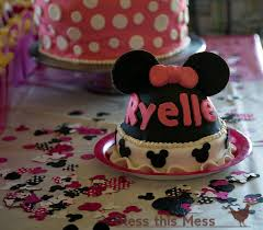 minnie mouse birthday party u2014 bless this mess