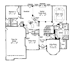 home plans homepw11000 3 618 square feet 5 bedroom 4 bathroom