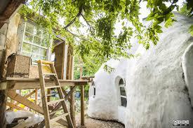 the earthbag house weird homes tour