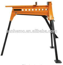 portable folding clamp vise work bench with hydraulic bench vise
