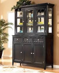 china cabinet unbelievable black china cabinet hutch buffet
