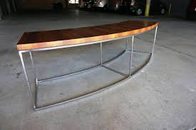 Curved Sofa Tables Curved Sofa Table Console Table Ideas For Curved Console Table
