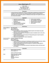 sample physical therapist resume unforgettable physical therapist