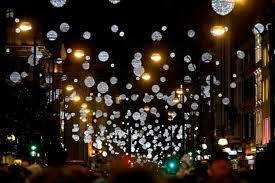 falling snowflake christmas lights pandora named headline sponsor of oxford street christmas lights event