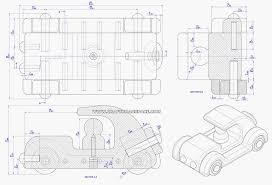 Free Toy Box Plans Pdf by Old Timer Car Toy Plan