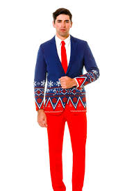 christmas suit the navy fair isle christmas suit the nordic gentleman