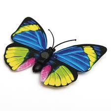 12pcs 3d butterfly wall sticker fridge magnet home decor