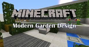 minecraft garden design episode 1 youtube