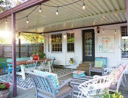 house back porch back porch makeover the handmade home