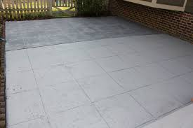 How To Paint Outdoor Concrete Patio Slate U201d Concrete Patio Makeover U2013 R U L Y