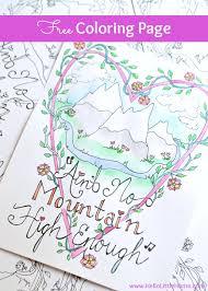 free coloring ain u0027t mountain