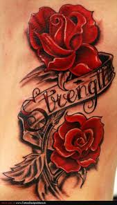 best rose tattoo on outer ankle photos pictures and sketches