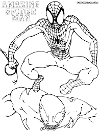 spiderman coloring pages venom nice spiderman color pages 73