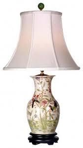 Vase Table Lamp Floral Porcelain Table Lamp Foter