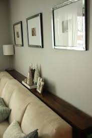 table that goes behind couch simple diy sofa tables sofa table behind couch and against the wall