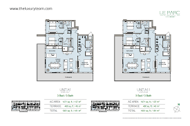 The Parc Condo Floor Plan by Le Parc At Brickell U2014tlt Realtors