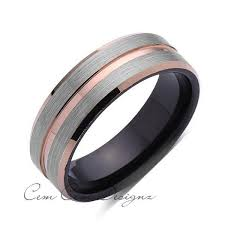 Black Gold Wedding Rings by Best 25 Mens Gold Wedding Bands Ideas On Pinterest Wedding Band