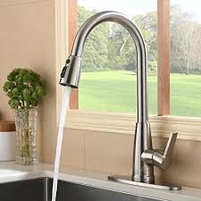 kitchen sink faucet deck plate touch on kitchen sink faucets hotis modern high arc 1 or 3 hole
