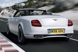 white bentley back new bentley continental supersports convertible autotribute