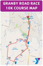 Race Map Course Maps Granby Road Race