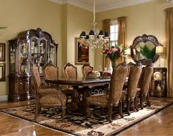 aico chateau beauvais rectangular trestle dining table includes