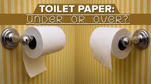 toilet paper u0027over or under u0027 debate resolved via 1891 patent
