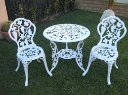 white aluminum patio furniture juniorderby me